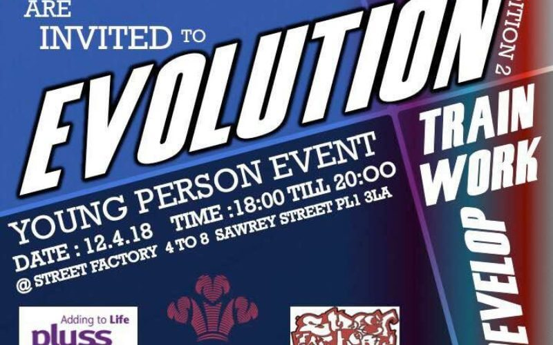 Young Person Event – Evolution